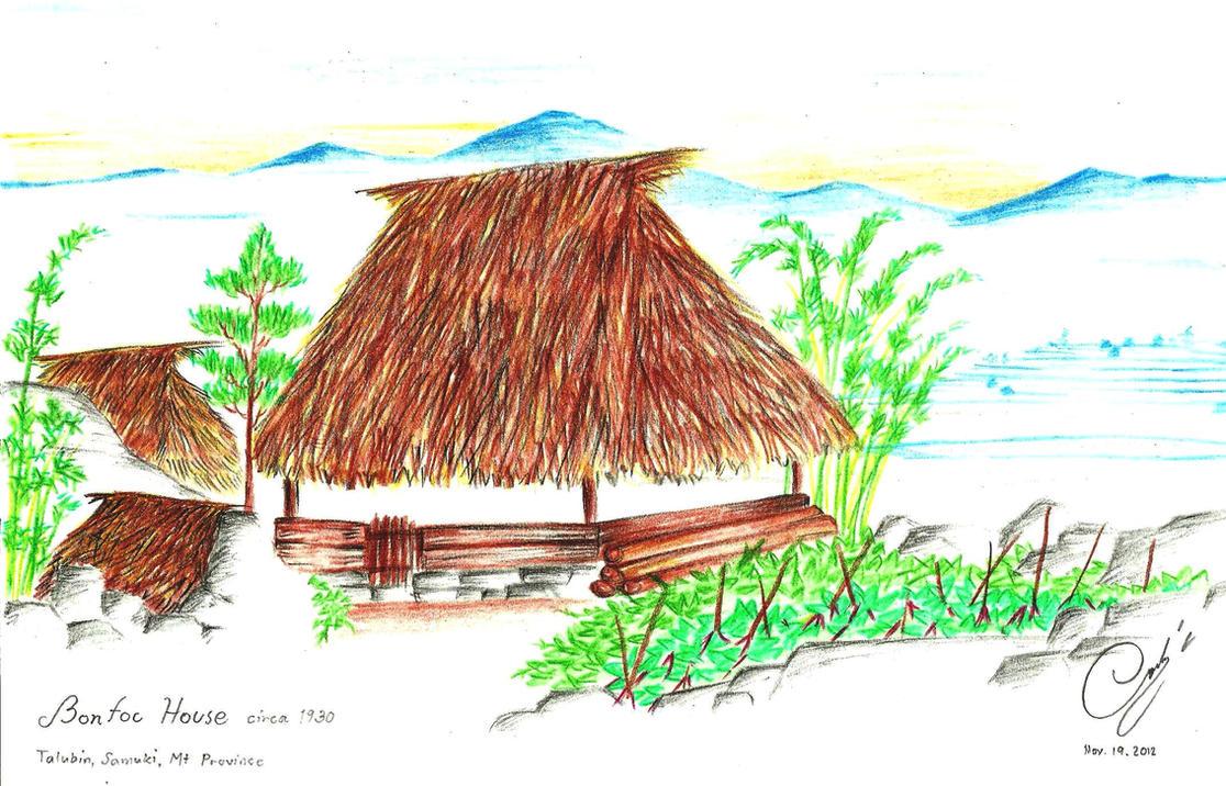 Bontoc  House by BlasitoHtf