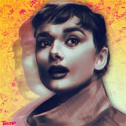 Audrey Hepburn - Study