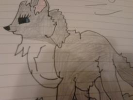 My Anime Wolf. by MizzytheWolf2