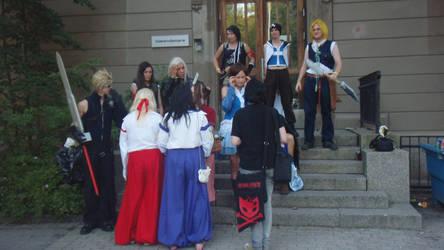 some ramdom cosplayers by Bloodykimy
