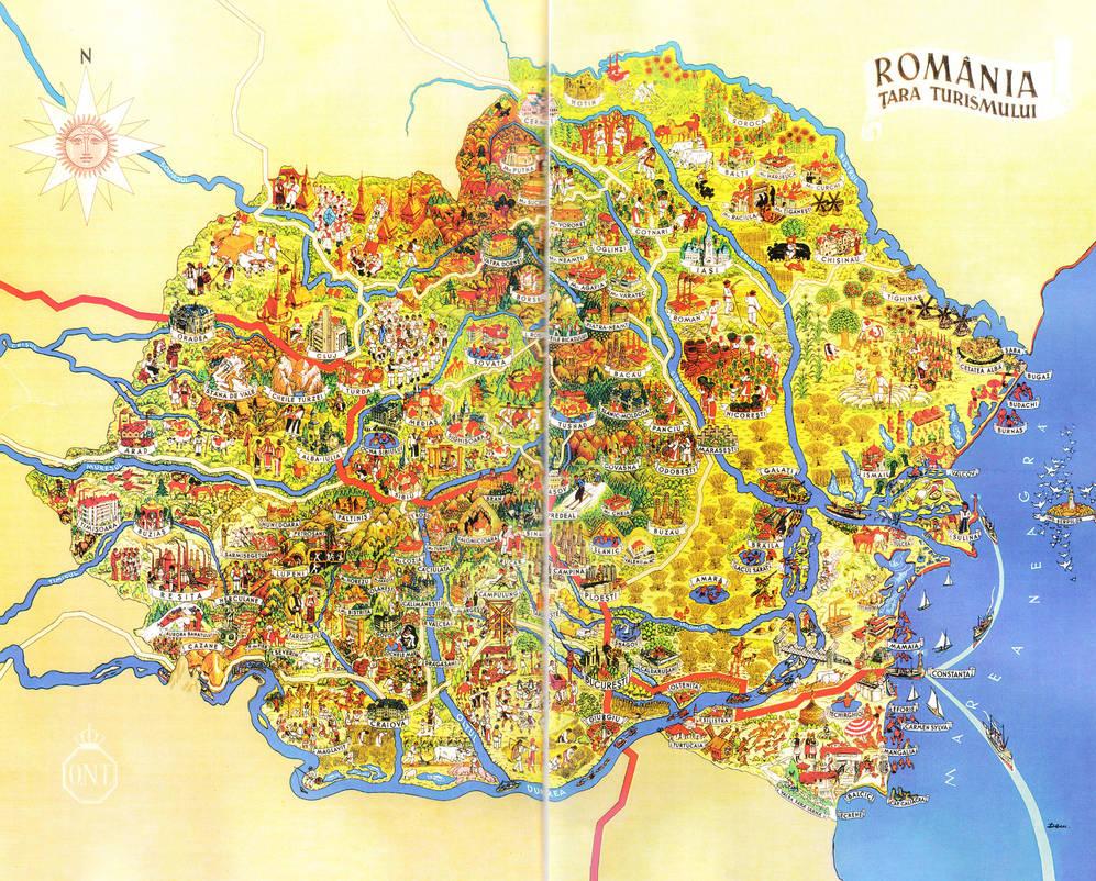 Romania - Cool Map by Zaigwast