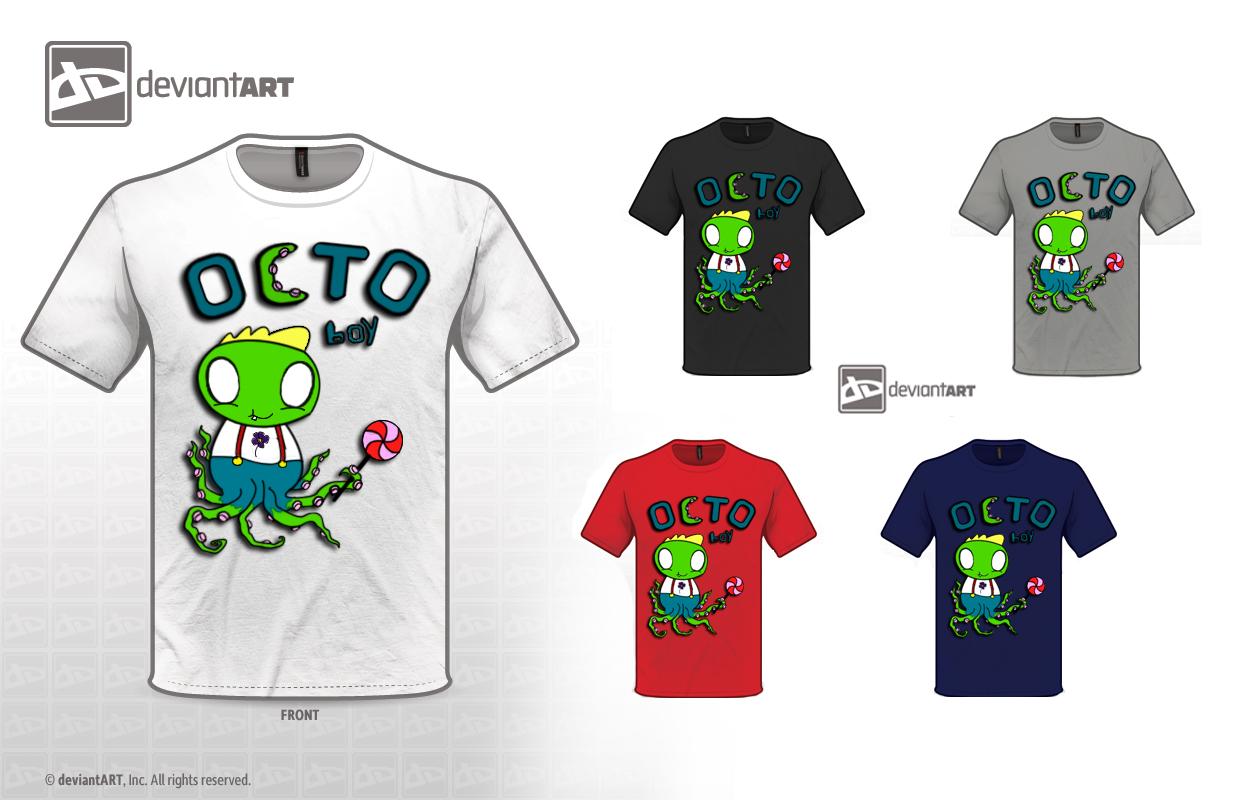 OCTO boy T-shirt by Zaigwast