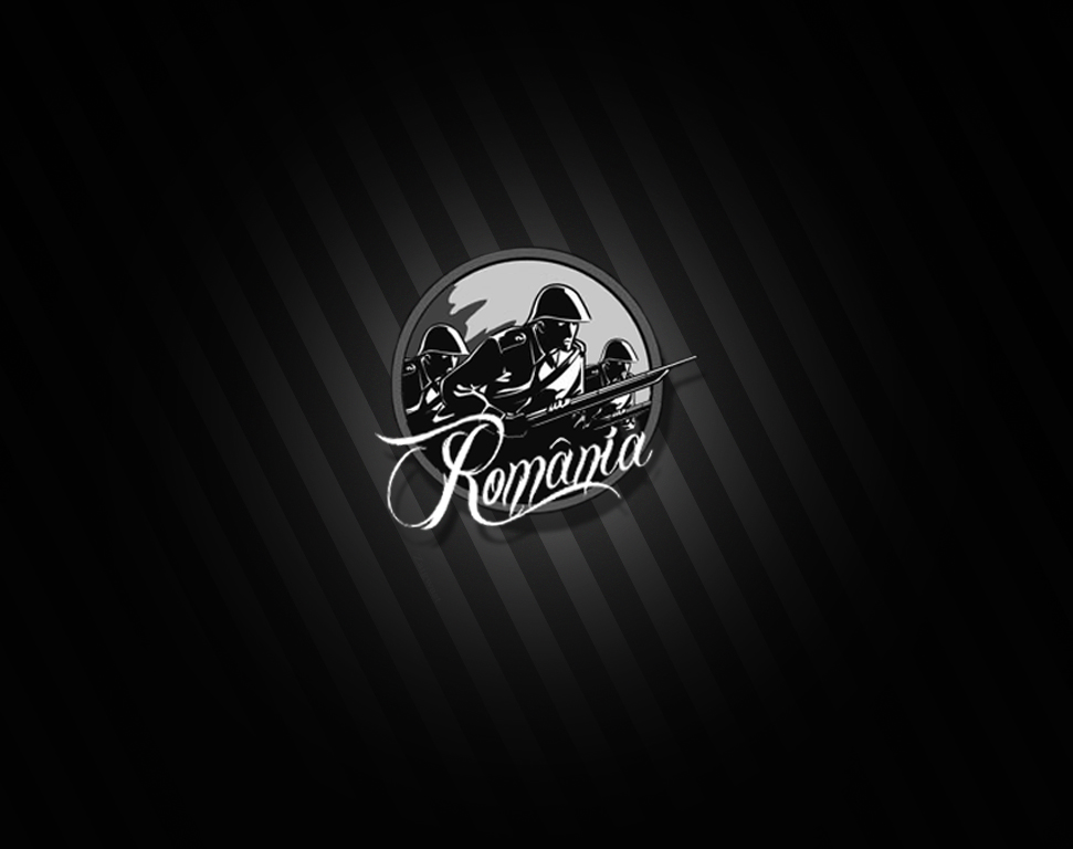 Romanian soldiers badge-Wallpaper by Zaigwast