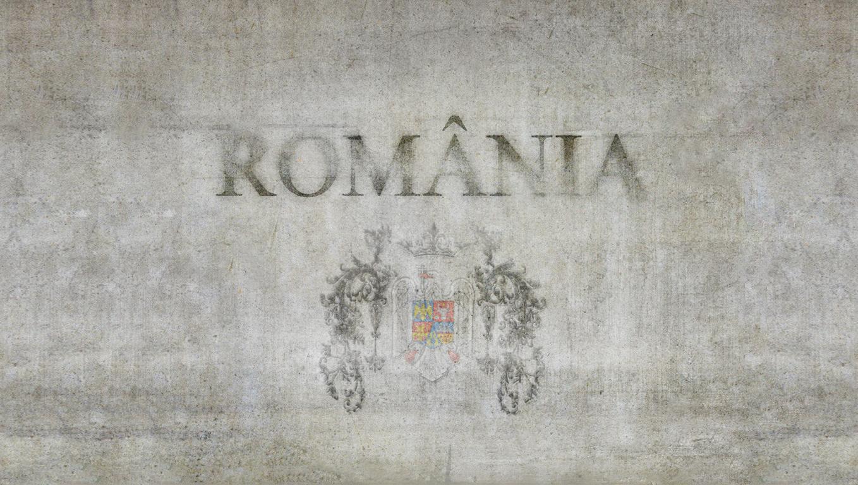 Romania on stone wall WALLPAPER by Zaigwast