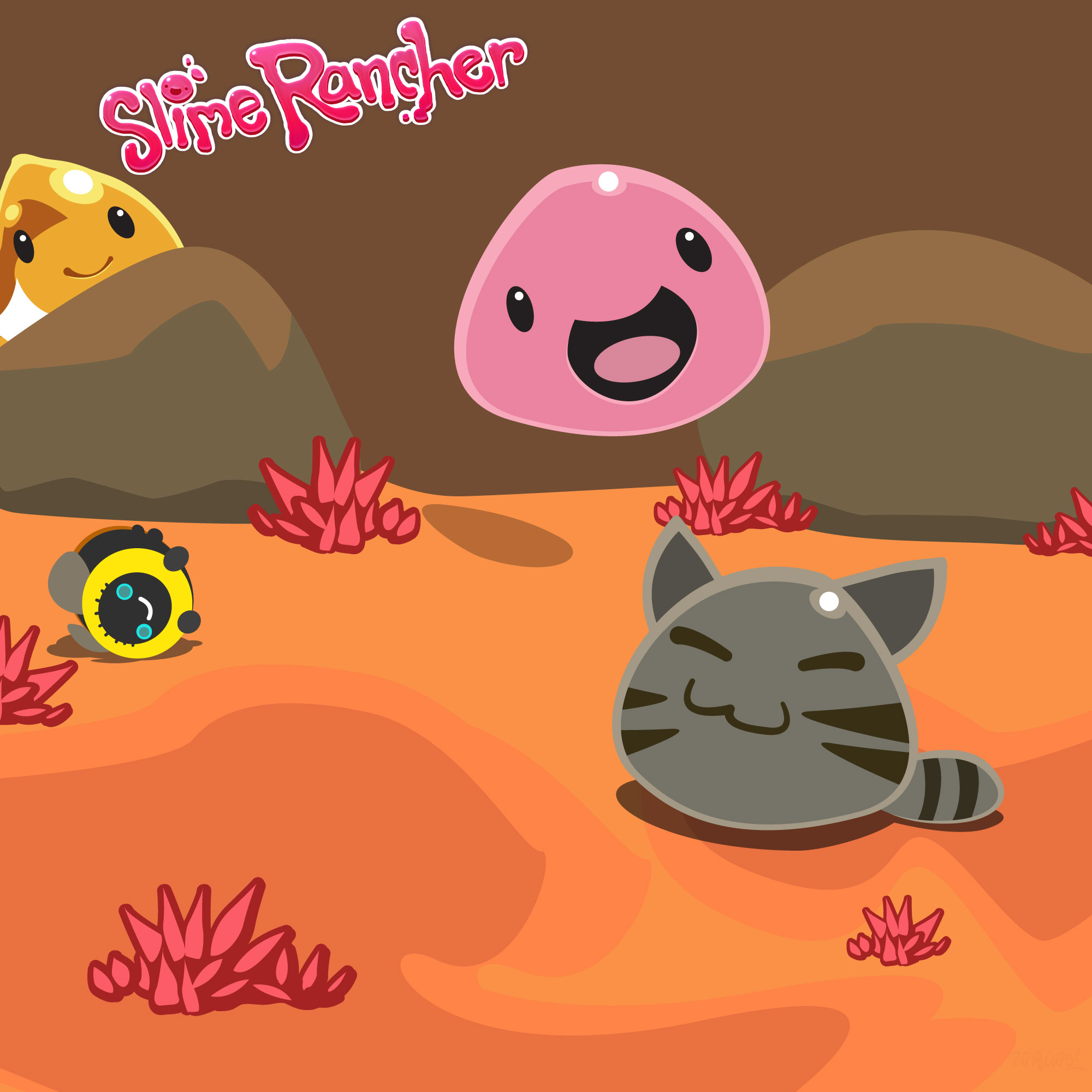slime rancher wallpaper by zaigwast