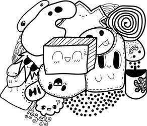 First doodle art