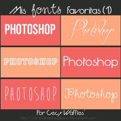 Fonts favoritas (1)