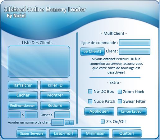 SRO Memory Loader Aqua Templat by N3tM4n
