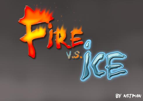 Fire Vs. Ice by N3tM4n