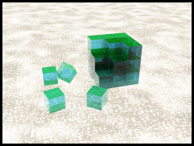 Cubes Fantasy by N3tM4n