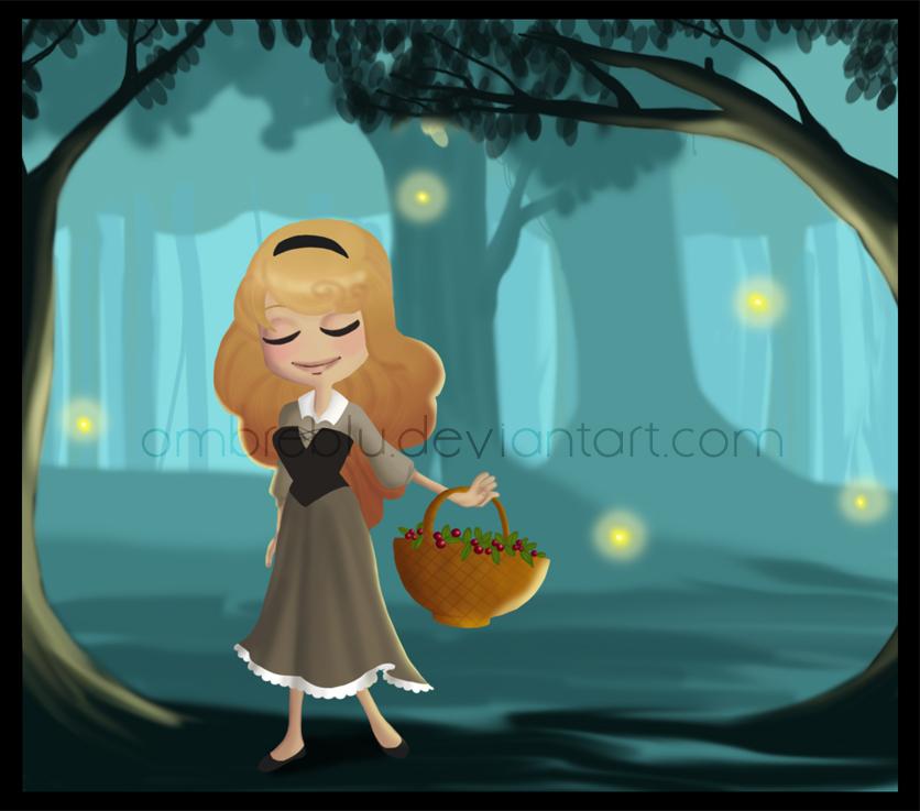 beauty in the wood by Ombreblu