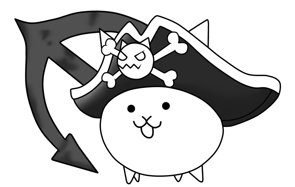 Battle cats wiki pirate cat pictures