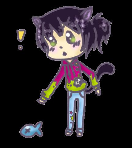 Chibi cat boy by Yani98