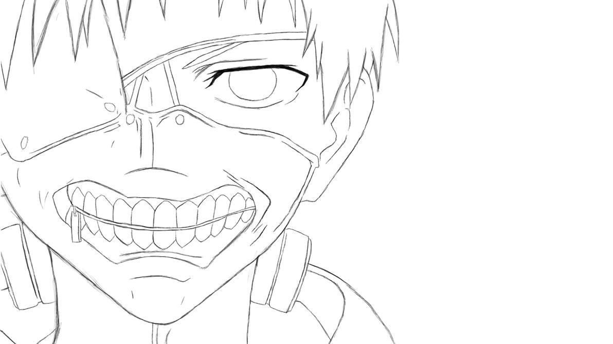 Tokyo Ghoul Kaneki Sketch by djakal12