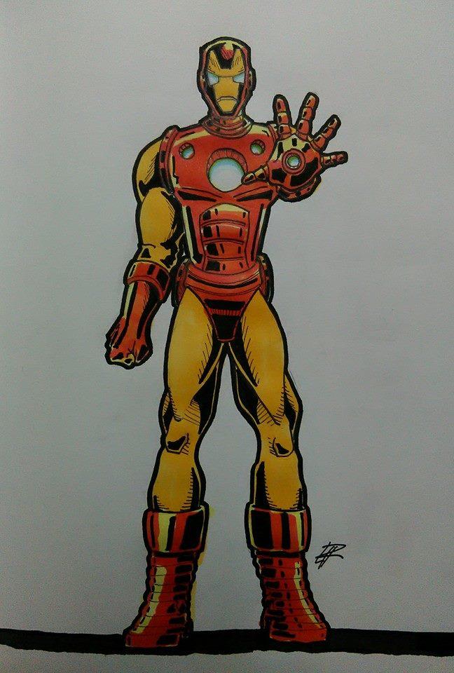 Iron Man by CarlPinus