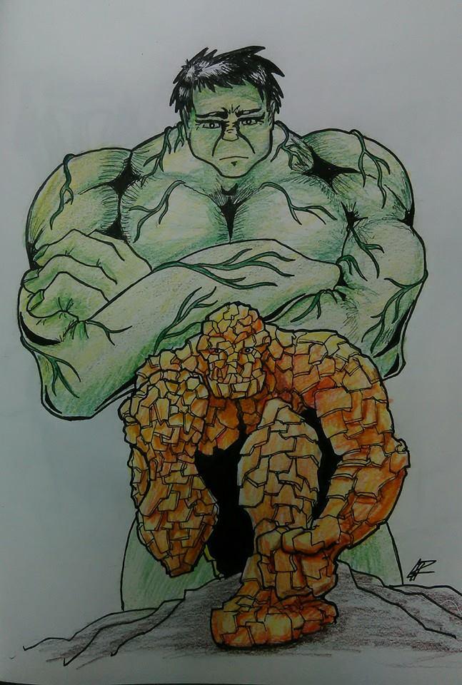 Hulk Thing by CarlPinus