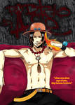 Ace tribute- One piece-