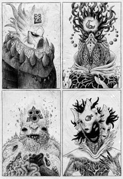 The Four Chaos Gods