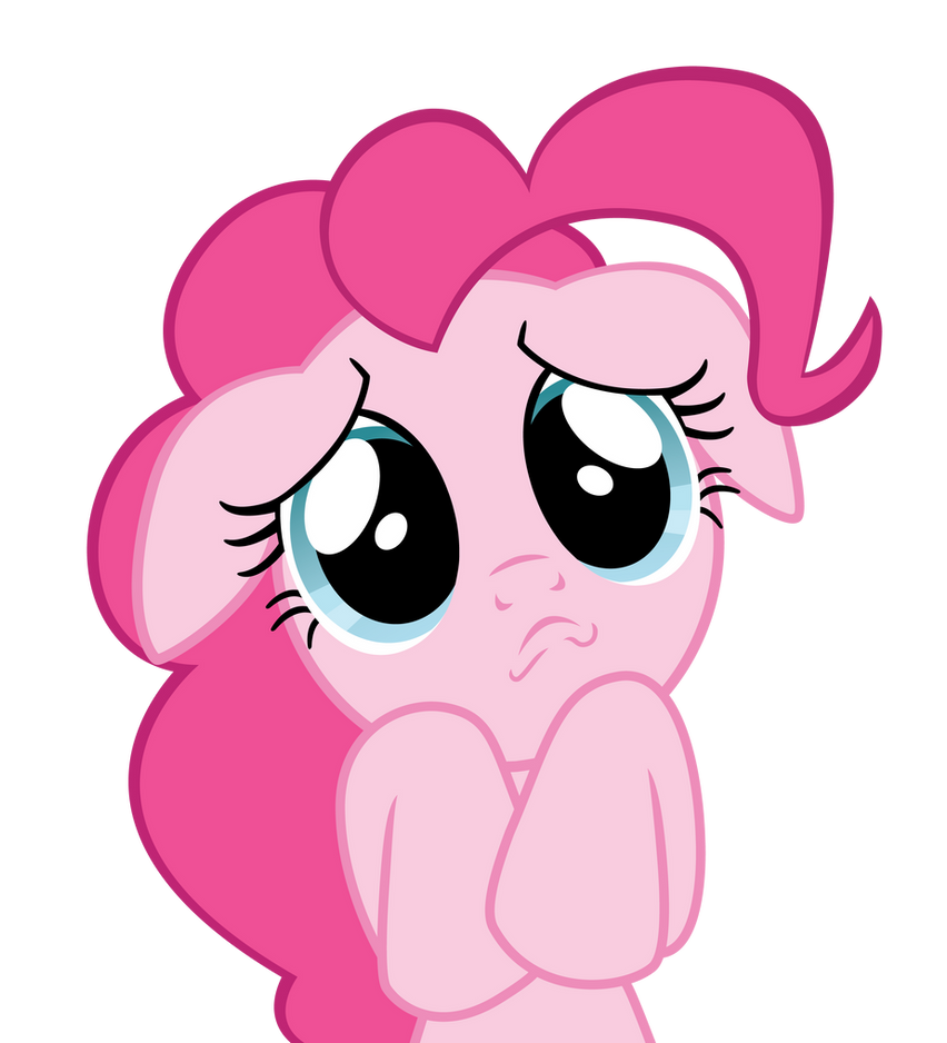 Sad Pinkie Pie by ErisGrim