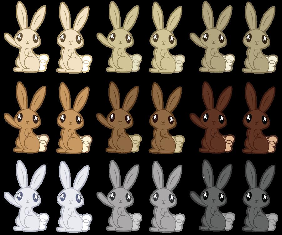 mlp rabbit pack by erisgrim on deviantart