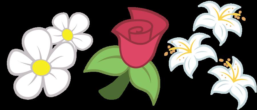 Flower Trio Cutie Marks by ErisGrim
