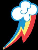 Rainbow Dash Cutie Mark by ErisGrim