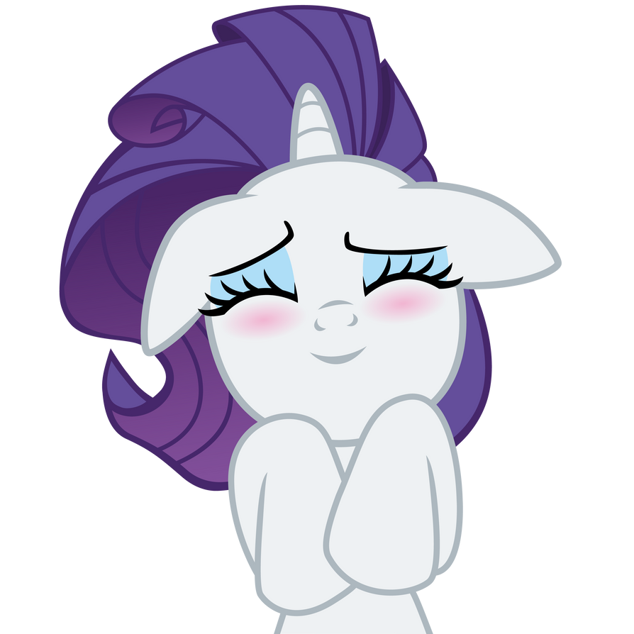 Happy Rarity by ErisGrim