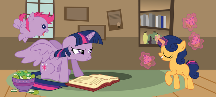 Twilight with her kids