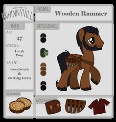 Wooden Rammer