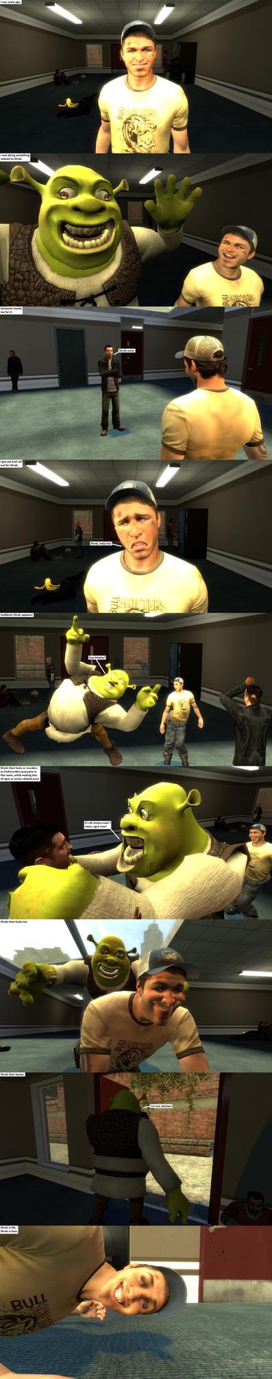 Shrek stories in a nutshell by Joosh-Face