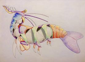 Mecha Mantis Shrimp by Icearstorm