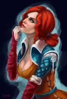 Triss Merigold by Hyanide