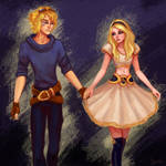 113 and 114/365 Lux and Ezreal