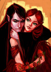 Love and Death by Hyanide