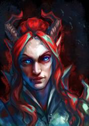 Valen Shadowbreath 2 by Hyanide