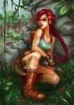 Tomb Raider I by Hyanide