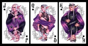 Fantasy Card Deck - Spades Suit