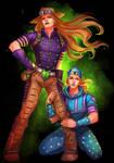 Gyro and Johnny