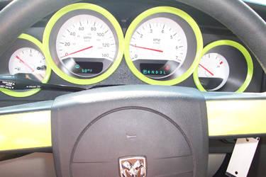 Custom Steering Console by Kamotsu-Freight