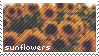 Sunflower Stamp by SasuArchive