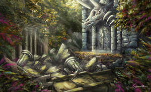 The secret door of the jungle