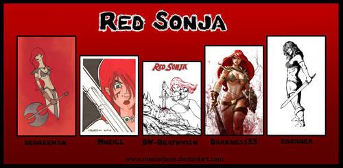 .o Red Sonja o. by Atuki