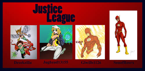 .o Justice Leauge o. by Atuki