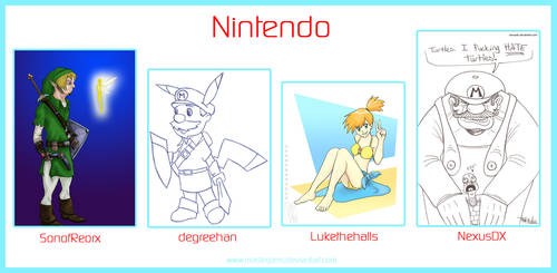 .o Nintendo o. by Atuki