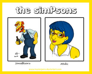 .o The Simpsons o. by Atuki