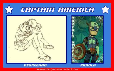 .o Captain America o. by Atuki