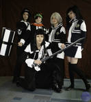 D-Gray-man Group Pose