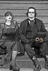 Steampunk pair by falcona