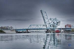 The Azure Bridge by falcona