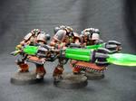 Custom Necron Immortals 2 by Solav